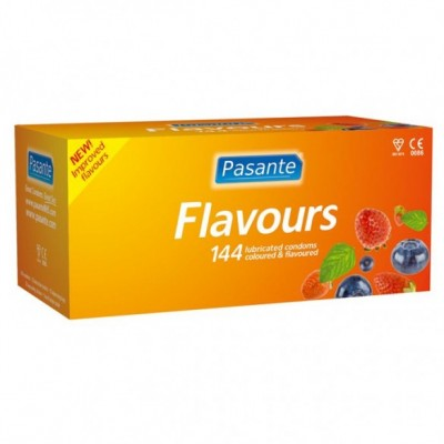 Pasante Mixed Flavours Condoms 12 Pack