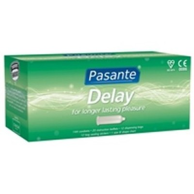 Pasante Delay Condoms - ( 12 Bagged )