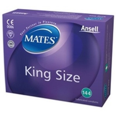 Mates King Size XXL Condoms 144